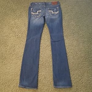 Big Star extra long bootcut jeans